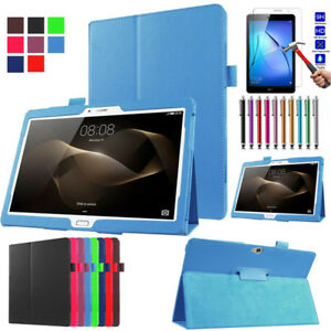 Folio Shockproof Leather Cover Case For HUAWEI MediaPad M2 M3 T3 M3 Lite Tablet