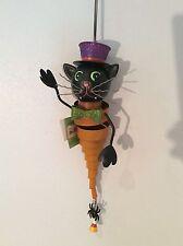 Halloween Fancy Cat Bouncy Ornament by Regal Art & Gift!  MAKE AN OFFER!!!