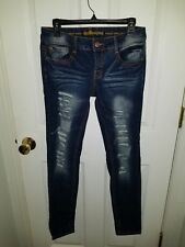 WOMEN'S DOLLHOUSE, CRAZY SEXY COOL, SKINNY JEANS, SIZE 9, LOW RISE, PUSH UP