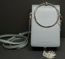 Charles and Keith Clutch steel blue