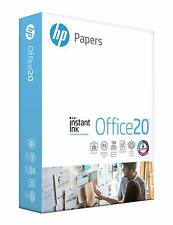 HP Office20 Printer Paper, White Letter Size 8.5