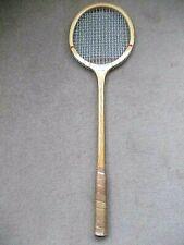 Vintage Gunn and Moore squash racquet