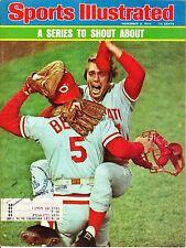 1975 (11/3) Sports Illustrated,Baseball magazine,Johnny Bench Cincinnati Reds~Fr