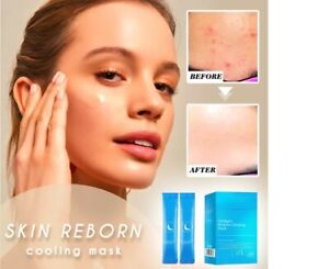 Skin Reborn Cooling Mask Moisturizing Leave-in Face Mask Care Dry Anti-Aging New