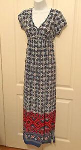 JSP Maternity Dress  size M printed V neck Dress
