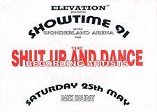 ELEVATION Rave Flyer Flyers A5 25/5/91 Wonderland Arena THE PRODIGY (Live)