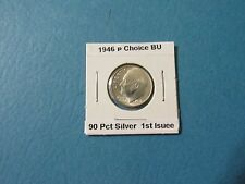 1946 P 10C Silver BU Roosevelt Dime FIRST YEAR OF ISSUE
