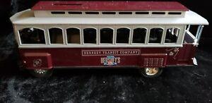 Hershey's 100th Anniversary Trolley Car Bank - made by ERTL - Very Sharp!