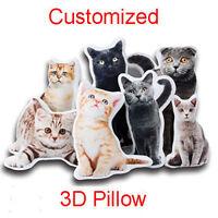 3D Customized Pillow Printing Personalized Custom Pet Photo Cushion Sofa Bolster