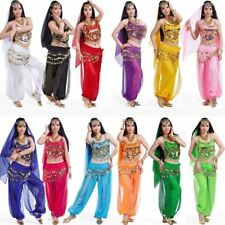 Arab Belly Dance Dancing Costume Bollywood Carnival Festival Party Fancy Outfit
