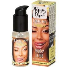 TASTE ME BODY LUBRICANT 50ML -  VANILLA. HAPPY DIVA. NEW