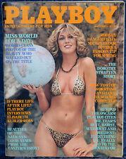 "Magazine PLAYBOY May 1981 GABRIELLE BRUM - MISS WORLD ""GINA GOLDBERG-CENTERFOLD"""