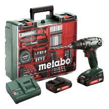 Metabo BS 18 Akku-Bohrschrauber Mobile Werkstatt mit 2 Akkus 2,0Ah - 602207880