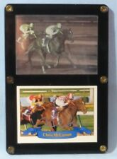 Chris McCarron Signed Promo Card + Hologram Card 1992 Breeders' Cup Juvenile