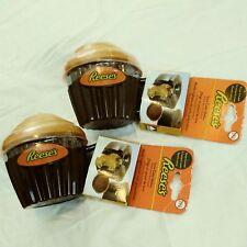 Reeses Lava Cake Cups Dessert Snacks Baking Summer Fun Microwave No BPA