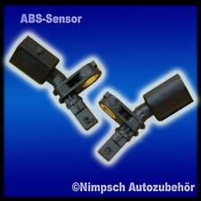 2 x ABS Sensor Drehzahlfühler Skoda Vorne Links + Rechts