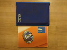 Fiat Scudo Owners Handbook/Manual and Wallet 03-05