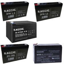 Batteria Ermetica Ricaricabile Piombo gruppi di continuita 6V e 12V - 1.2 7 9 12
