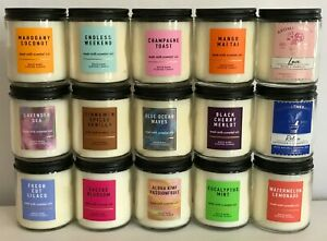 Bath & Body Works Single Wick Scented Candles 7 oz / 198 g *Variation!*