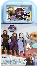 Disney Frozen Magnetic Activity Fun Dress Up Everything Stores Inside NEW