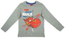 T-shirts, débardeurs et chemises gris Disney à manches longues pour garçon de 2 à 16 ans