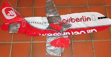 Air Berlin XXL aufblasbares Flugzeug ca. 1,30m