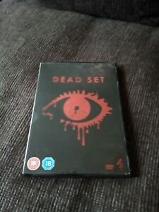 Dead Set (DVD, 2008) Charlie Brooker, Zombies, Big Brother, free post uk