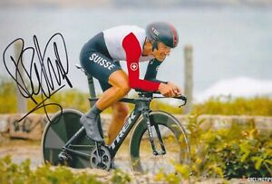 FABIAN CANCELLARA Olympia Tour Foto 20x30 signiert IN PERSON Autogramm signed