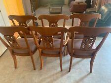 Ethan Allen Legacy  Pineapple Dining Room Arm Host Chair - 2 and 4 Side Chairs.