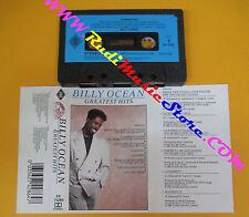 MC BILLY OCEAN Greatest hits 1989 italy JIVE ZOMBA ZK 74286 no cd lp dvd vhs