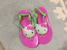 Hello Kitty Sandals Slingback 11 12 Girls Excellent