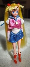 "1995 Bandai Japan Sailor Moon doll, 90s vintage Japanese Anime Barbie-style 11"""