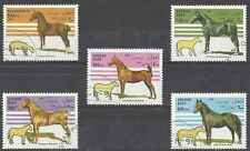 Timbres Chevaux Afghanistan 1512/6 o lot 2974
