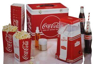 Coca Cola Popcorn maschine maker mit Zubehör Granita fun