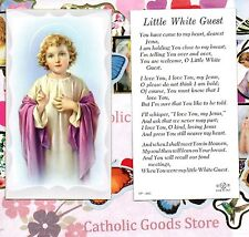 Little White Guest - Paperstock Holy Card