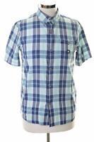 DC Womens Shirt Size 12 Medium Multi Check Cotton