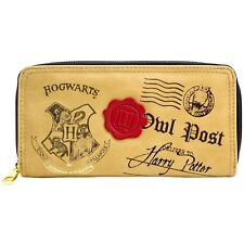 Official Harry Potter Hogwarts Owl Post Brown Coin & Card Purse *SECOND*