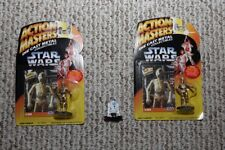 C-3PO and R2-D2 Star Wars Action Masters die-cast figures Kenner vintage 1994