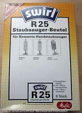 Staubsaugerbeutel 8 Stück von Swirl im SET  für Rowenta Handstaubsauger R25