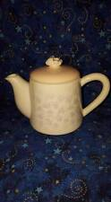Decorative Porcelain Small Tea Pot; Purple Flowers