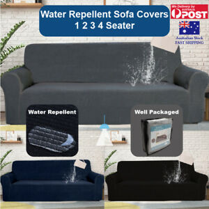 Sofa Cover 1 2 3 4 Seater Water Repellent Couch Cover Lounge Slipcover Protector