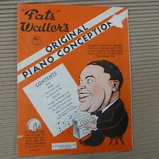 Piano fats waller's original piano conception