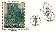 1982 POPE JOHN PAUL II BARCELONA SPAIN VISIT POST COVER