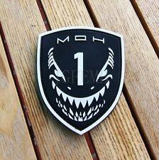 Luminous Medal of Honor MOH  MAKO SHARK 3D PVC Patch PB367