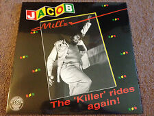 JACOB MILLER The Killer Rides Again LP SEALED! VP Records THE INNER CIRCLE BAND