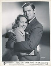 VIRGINIA MAYO GORDON MACRAE Original Vintage BACKFIRE Film Noir Portrait Photo