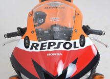 R&G Racing Mirror Blanking Plates to fit Honda CBR 954 RR Fireblade 2002-2003