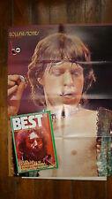 Magazine BEST n° 47  -  juin  1972  couv  j garcia : poster stone martin circus