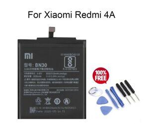 For Xiaomi Redmi 4A BN30 100% Original 3030mAh Internal Battery Replacement