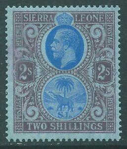 SIERRA LEONE 1921 George V mint 2/- SG144